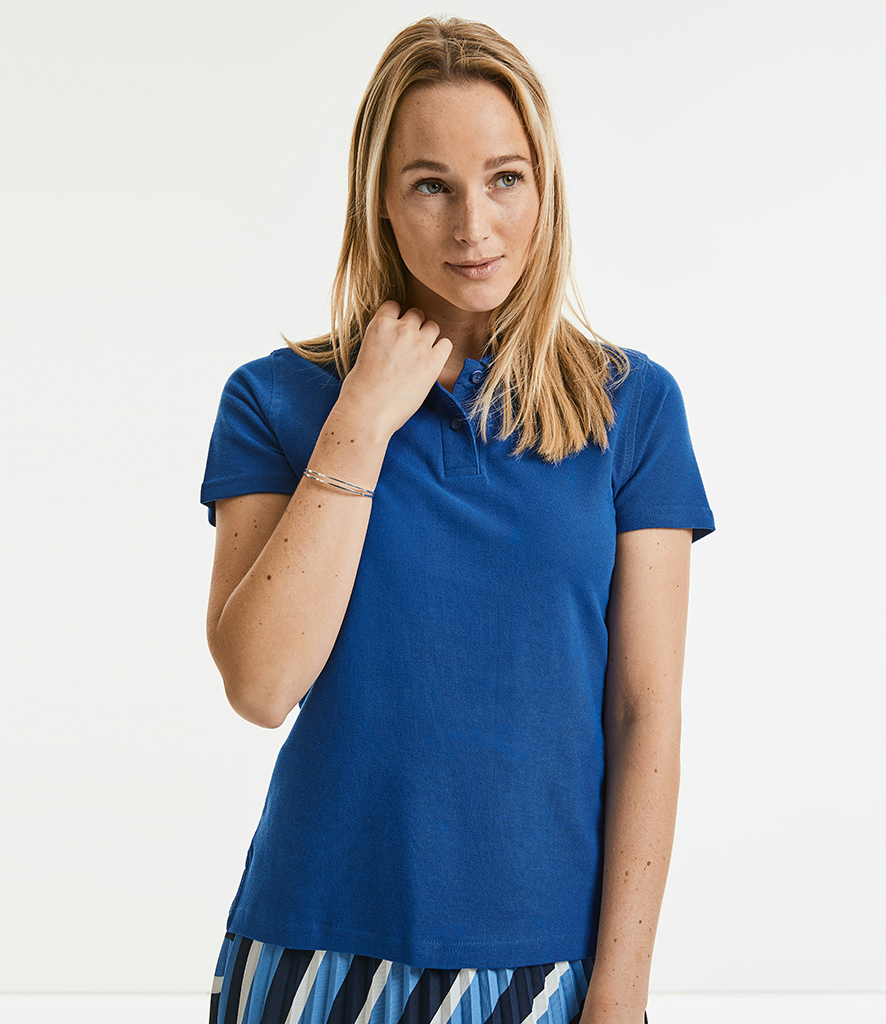 Russell Ladies Ultimate Cotton Piqué Polo Shirt