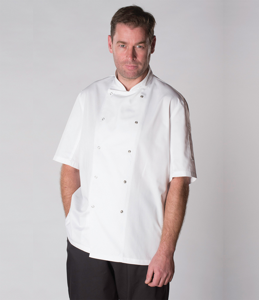 AFD Short Sleeve Thermo°Cool™ Chef's Jacket