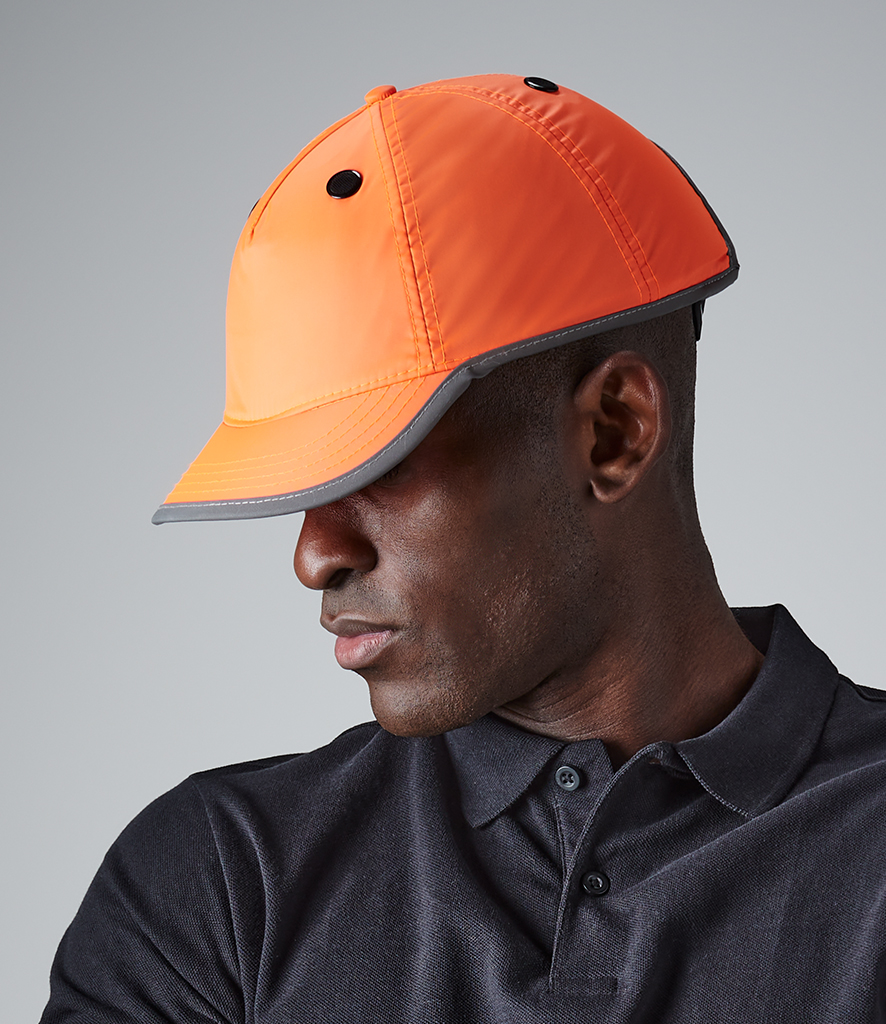 Beechfield Enhanced-Viz EN812 Bump Cap