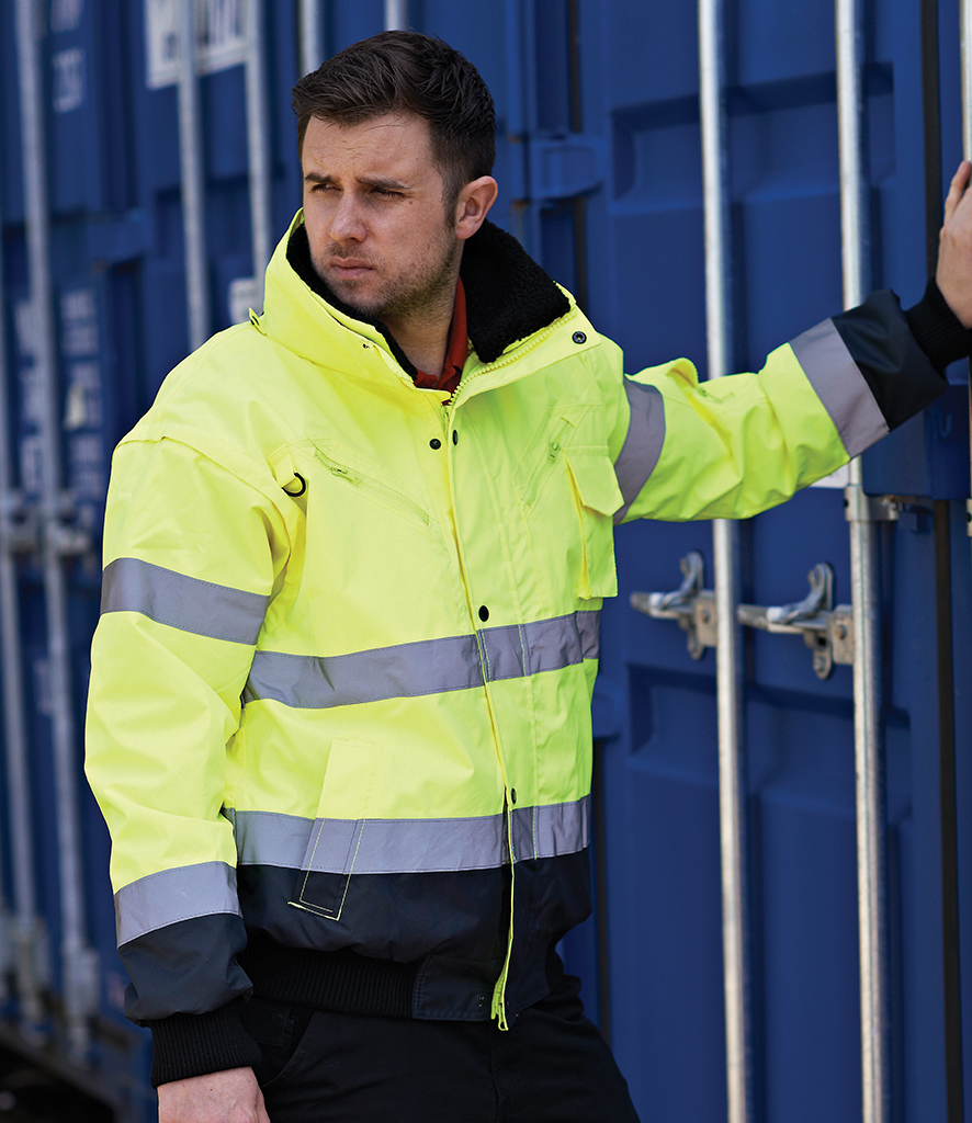 Portwest 3-in-1 Hi-Vis Bomber Jacket