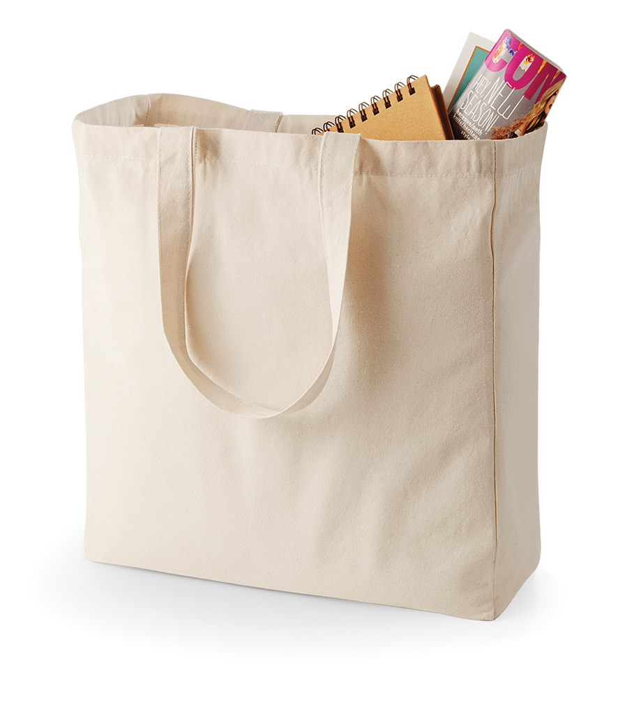 Quadra Canvas Classic Shopper