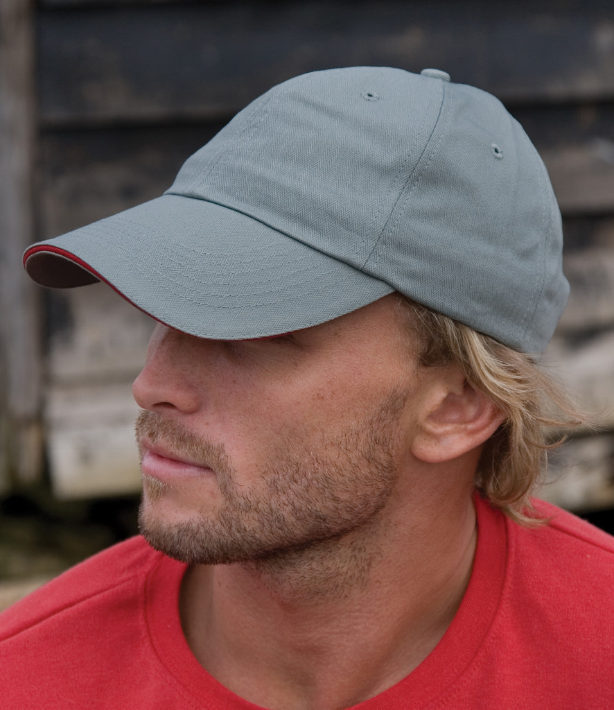 Result Herringbone Cap