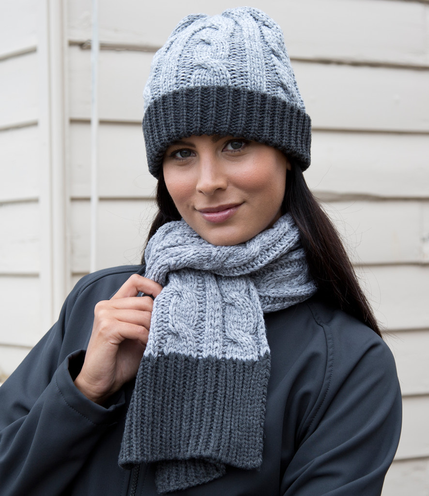 Result Shades of Grey Scarf