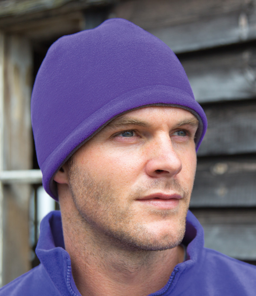 Result Reversible Fleece Skull Hat