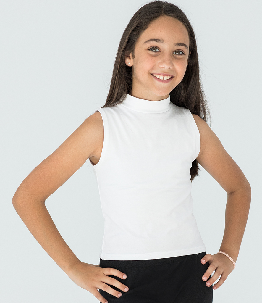 SF Minni Kids High Neck Crop Vest