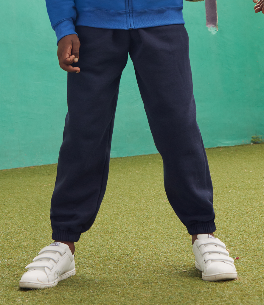 Fruit of the Loom Kids Elasticated Hem Jog Pants