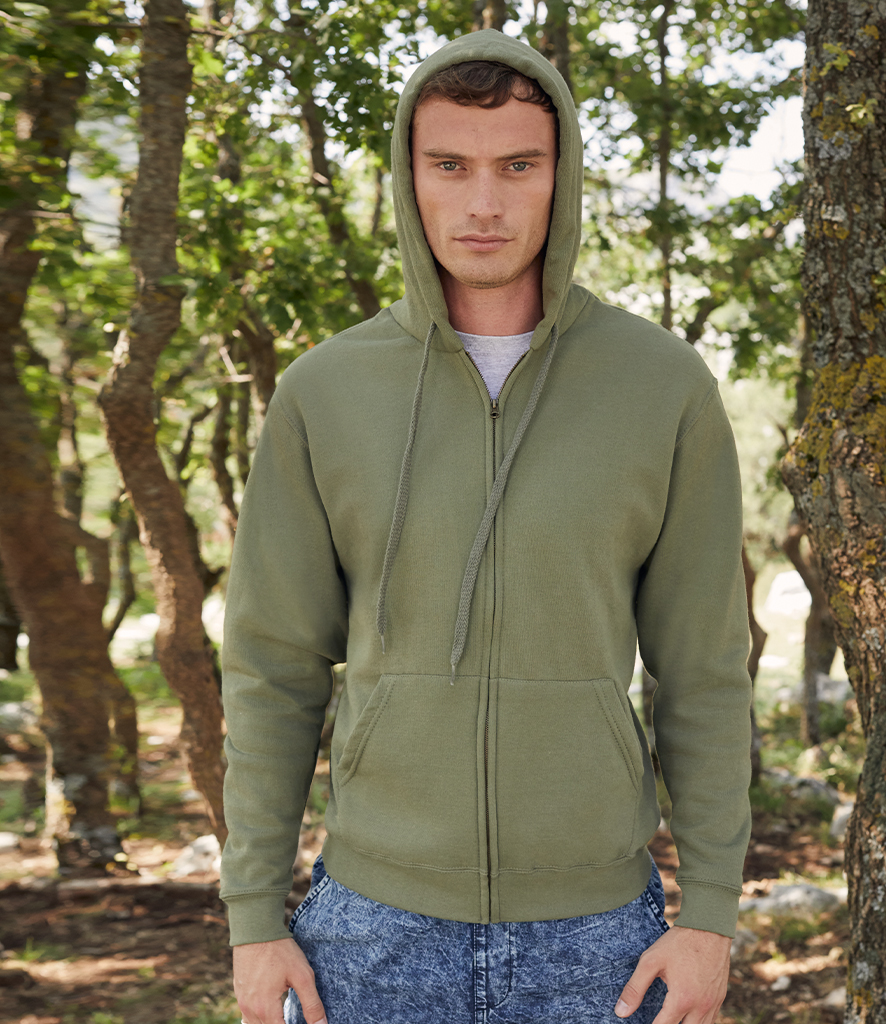 Fruit of the Loom Classic Zip Hooded Sweatshirt