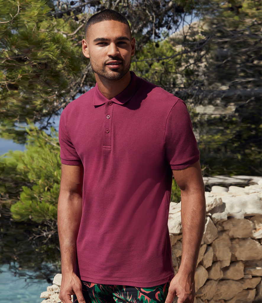 Fruit of the Loom Premium Cotton Piqué Polo Shirt