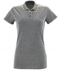 Poly/cotton Polos - Ladies Contrast