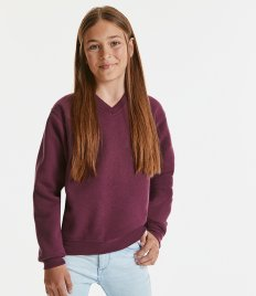 Jerzees Schoolgear Kids V Neck Sweatshirt