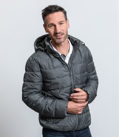 Russell Hooded Nano Padded Jacket
