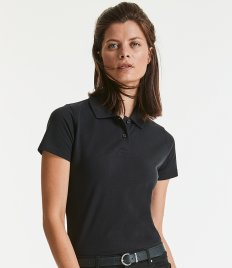 Russell Ladies Classic Cotton Piqué Polo Shirt