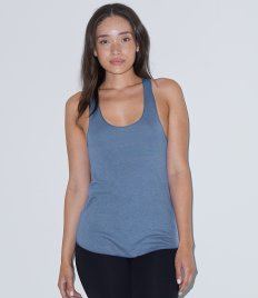 American Apparel Ladies Tri-Blend Racer Back Vest