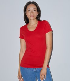 American Apparel Ladies Poly/Cotton T-Shirt