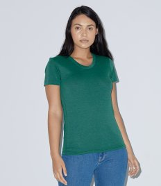 American Apparel Ladies Tri-Blend Track T-Shirt