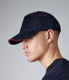 Beechfield Ultimate 5 Panel Cap with Sandwich Peak