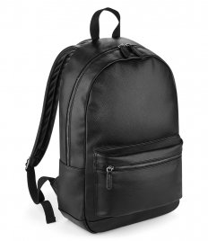 BagBase Faux Leather Backpack