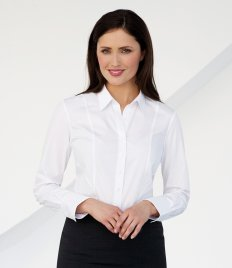 Brook Taverner Ladies Palena Long Sleeve Poplin Shirt