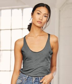 Bella Tri-Blend Racer Back Tank Top