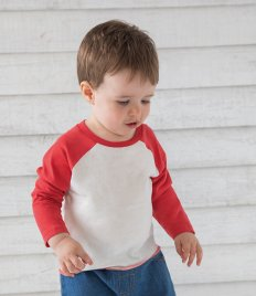 BabyBugz Baby Long Sleeve Baseball T-Shirt