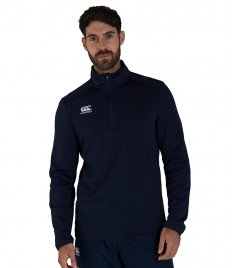Canterbury Club Zip Neck Mid Layer Training Top
