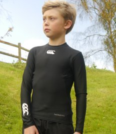 Canterbury Kids ThermoReg Long Sleeve Base Layer