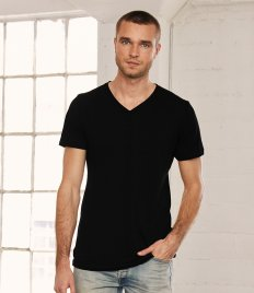 Canvas Unisex Jersey V Neck T-Shirt