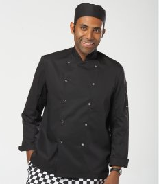 Dennys Long Sleeve Press Stud Chef