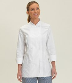 Dennys Ladies Long Sleeve Premium Chef