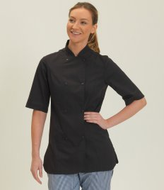 Dennys Ladies Short Sleeve Premium Chef