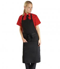 Dennys Bib Apron with Pocket