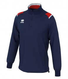 Errea Lars Zip Neck Warm Up Top