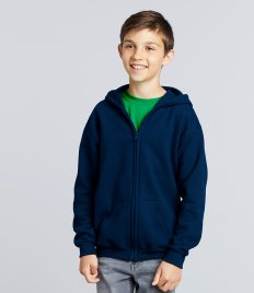 Gildan Kids Heavy Blend™ Zip Hooded Sweatshirt