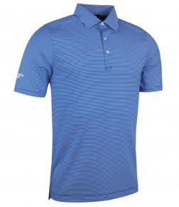 Glenmuir Micro Stripe Polo Shirt
