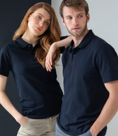 Henbury Stretch Cotton Piqué Polo Shirt