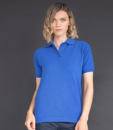 Henbury Ladies Poly/Cotton Piqué Polo Shirt