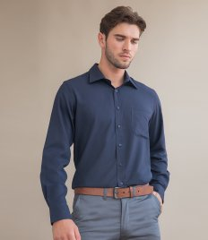 Henbury Long Sleeve Wicking Shirt