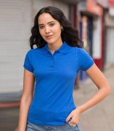 AWDis Ladies Stretch Piqué Polo Shirt
