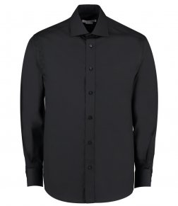 Kustom Kit Premium Long Sleeve Classic Fit Oxford Shirt
