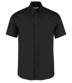Kustom Kit Short Sleeve Tailored Premium Oxford Shirt