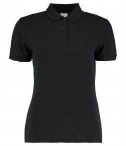 Kustom Kit Ladies Klassic Slim Fit Piqué Polo Shirt