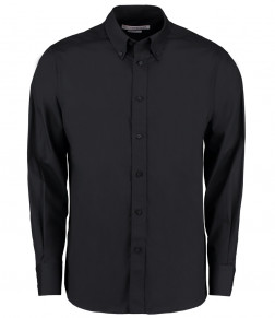Kustom Kit Long Sleeve City Business Shirt
