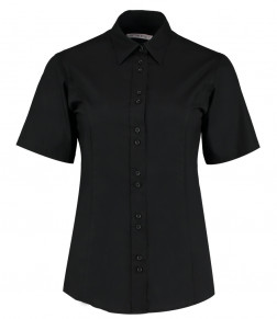 Kustom Kit Ladies Short Sleeve City Business Shirt
