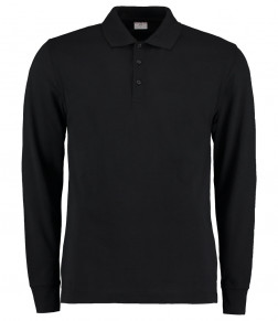 Kustom Kit Long Sleeve Poly/Cotton Piqué Polo Shirt