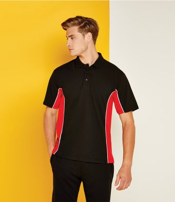 Gamegear Track Poly/Cotton Piqué Polo Shirt