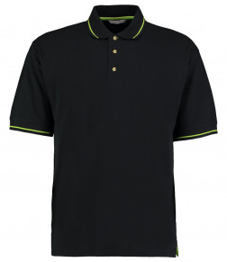 Kustom Kit St Mellion Tipped Cotton Piqué Polo Shirt