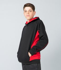 Finden and Hales Kids Contrast Hooded Sweatshirt