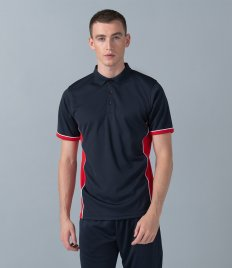 Finden & Hales Contrast Panel Polo Shirt