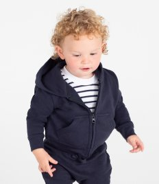 Larkwood Baby/Toddler Zip Hooded Sweatshirt