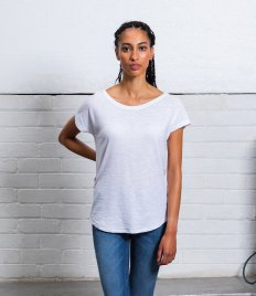 Mantis Ladies Organic Loose Fit Slub T-Shirt